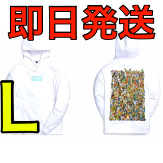 Kith for The Simpsons 2021 × L 白 フーディ