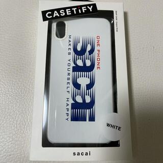 サカイ(sacai)のsacai × casetify iPhone XS Max 専用(iPhoneケース)