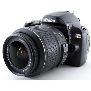 Nikon - 美品♪Wi-Fi付&初心者さん安心手振れ補正レンズ‼ NIKON ニコン D60