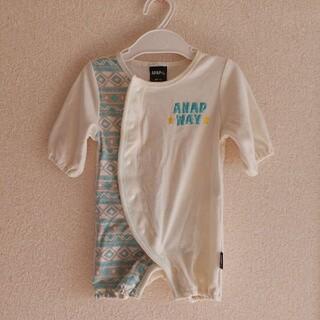 ANAP - アナップ♡お尻が可愛いロンパース カバーオール♡60-70cm