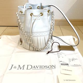 ジェイアンドエムデヴィッドソン(J&M DAVIDSON)の最終お値下げ◆j&m davidson 保存袋付き カーニバル ホワイト イエナ(ショルダーバッグ)