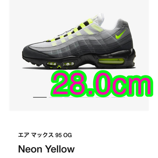 NIKE -  Nike Air Max 95 OG Neon (2020) 28.0cm