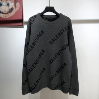 Balenciaga - Balenciaga オールオーバー クールネック セーター S