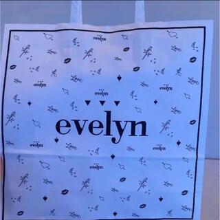 エブリン(evelyn)のevelyn 紙袋(ショップ袋)