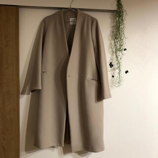 ステュディオス(STUDIOUS)のunited tokyo コート アイボリー サイズ1 美品(ロングコート)