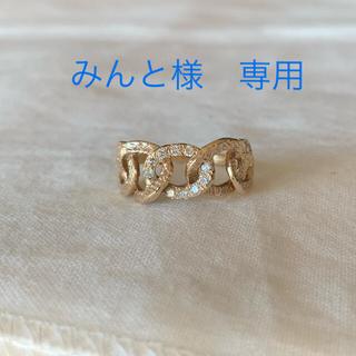 KAORU - カオル チェインズリング K10ダイヤ 11号