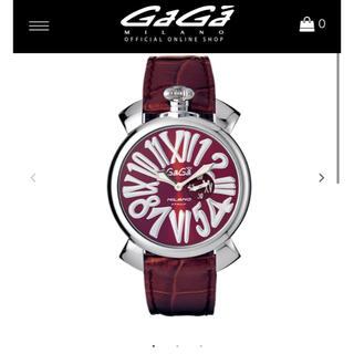 ガガミラノ(GaGa MILANO)のガガミラノ 時計 マニュアーレ46 (腕時計(アナログ))