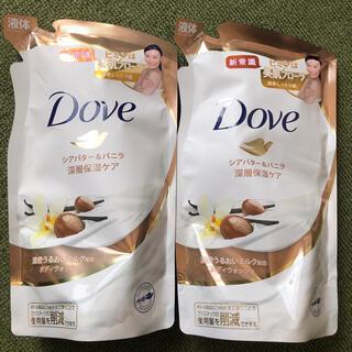 ユニリーバ(Unilever)の詰め替え2個セット ダヴ ボディウォッシュ シアバター&バニラ つめかえ用(ボディソープ/石鹸)
