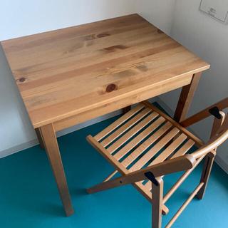 イケア(IKEA)のダイニングテーブル 椅子 セット(ダイニングテーブル)