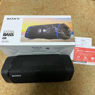 SONY - Sony SRS-XB33 ブラック Bluetooth スピーカー