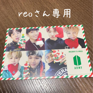 BTSファンクラブ限定メッセージカード(K-POP/アジア)