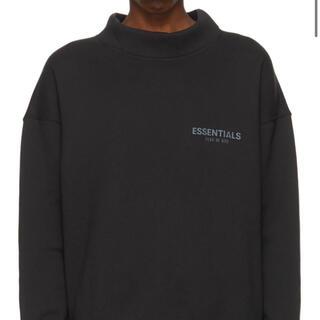 エッセンシャル(Essential)のessentials ロゴ モック ネック スウェット パーカー S(スウェット)
