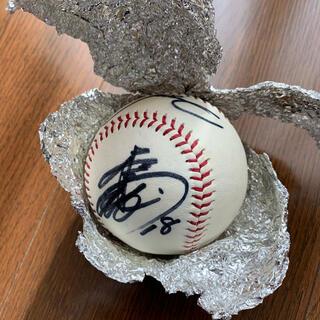 松坂投手のサインボールと色紙