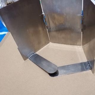ユニフレーム(UNIFLAME)のユニフレーム 風除け キャンプ 登山にも(調理器具)
