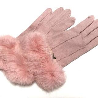 ランバンコレクション(LANVIN COLLECTION)のランバンコレクション 手袋 レディース(手袋)