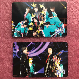 キスマイフットツー(Kis-My-Ft2)のライブフォトカード 【千賀健永・横尾渉】(アイドルグッズ)