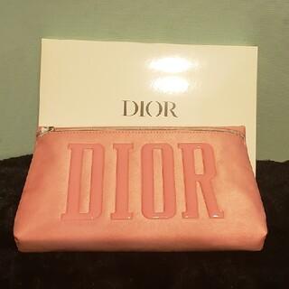 Dior - DIOR ディオール ノベルティ ポーチ ピンク