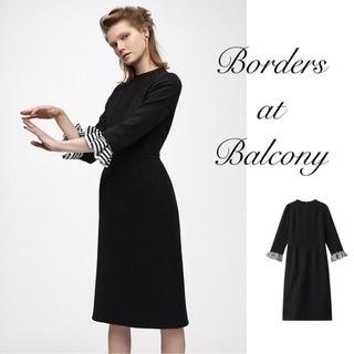 新品タグ付BORDERS at BALCONY♡ELLE別注リトルブラックドレス