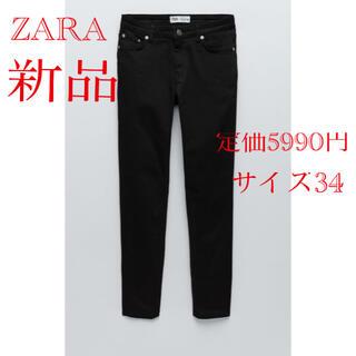 ZARA - ZARA 【新品】スキニーデニム ブラック 34