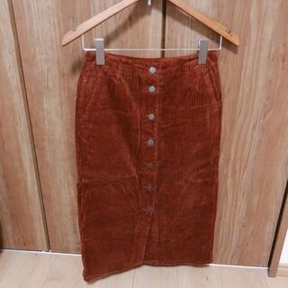 ジーユー(GU)のGUタイトスカート(ロングスカート)