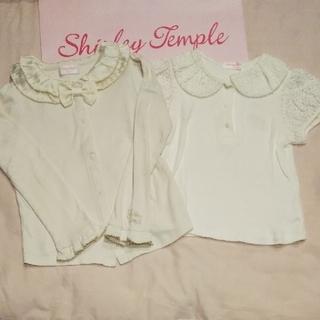 シャーリーテンプル(Shirley Temple)の120 インナー セット 長袖 半袖 シャーリーテンプル(Tシャツ/カットソー)
