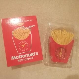 マクドナルド(マクドナルド)のポテトクロック マクドナルド (置時計)