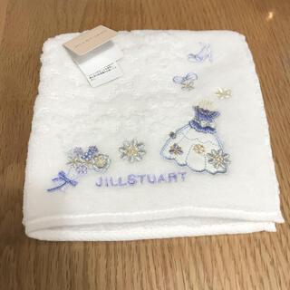 JILLSTUART - 新品 ジルスチュアート タオルハンカチ 白 ドレス