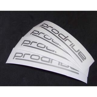 prodrive(プロドライブ)切り文字ステッカー 10cm 4枚(その他)