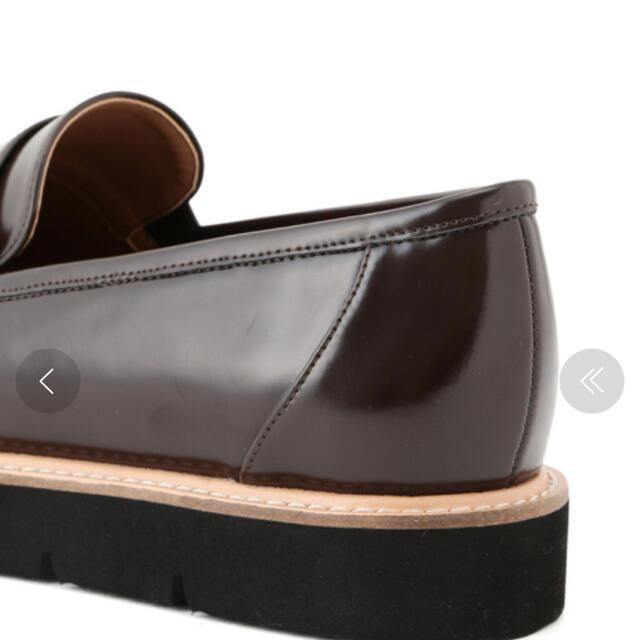 Rope' Picnic(ロペピクニック)のロペピクニック 粒スタッズコインローファー レディースの靴/シューズ(ローファー/革靴)の商品写真