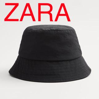 ZARA - ZARA バケットハット 帽子 ブラック