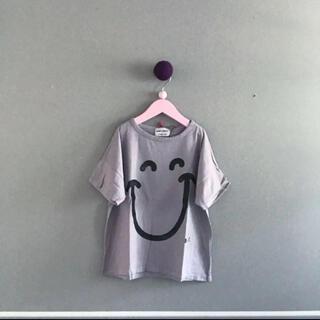 ボボチョース(bobo chose)の⚫︎BOBO CHOSES⚫︎スマイルの半袖トップス 6Y(Tシャツ/カットソー)