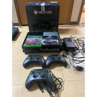 エックスボックス(Xbox)のxbox one本体、おまけつき(家庭用ゲーム機本体)