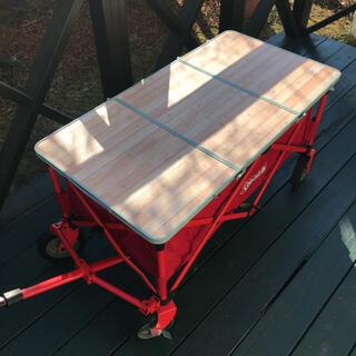 ロゴス(LOGOS)のロゴス カートオンテーブルトップ キャリーカート 天板(テーブル/チェア)
