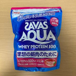 SAVAS - ザバス(SAVAS)アクア ホエイプロテイン100  アセロラ風味【40食分】