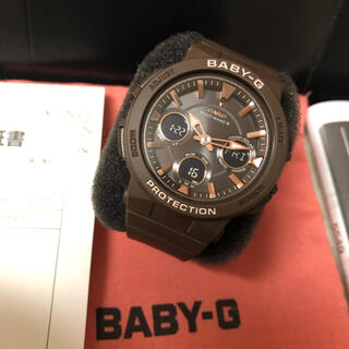 ベビージー(Baby-G)のGA-2510-5AJF Baby-G 電波 ソーラー 電波時計(腕時計(アナログ))