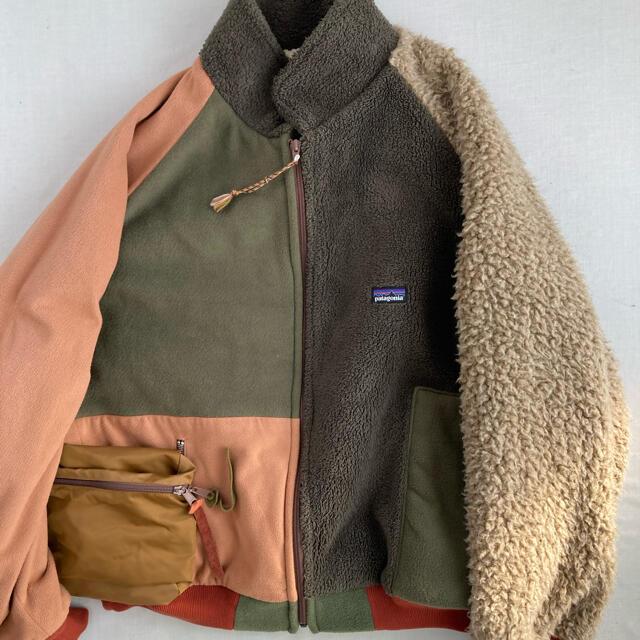 1LDK SELECT(ワンエルディーケーセレクト)の本日だけ値下げ 早い者勝ち 入手困難 GILET パタゴニア リメイク  メンズのジャケット/アウター(ブルゾン)の商品写真