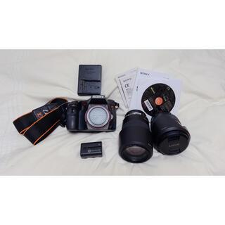 SONY - SONY デジタル一眼カメラ α77 SLT-A77V