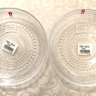 イッタラ(iittala)の【新品!イッタラ】カステヘルミプレート/17cm 2枚セット(食器)