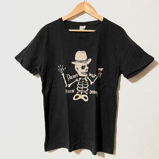 ジーアールエヌ(grn)のgrn スカルプリントTシャツ(Tシャツ/カットソー(半袖/袖なし))
