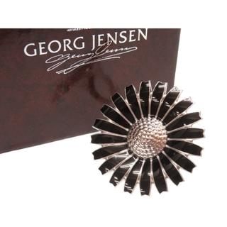 ジョージジェンセン(Georg Jensen)のジョージジェンセン  デイジー   シルバー925  ブラック シ(リング(指輪))