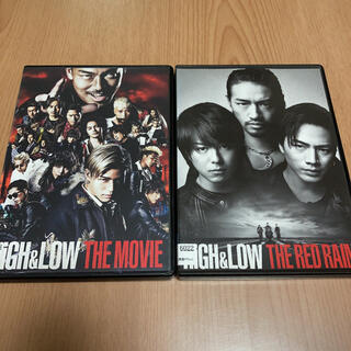 EXILE TRIBE - HIGH&LOW THE MOVIE / THE RED RAIN /  DVD