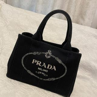 PRADA - PRADA プラダ カナパ トートバッグ 黒