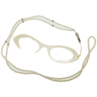 フォクシー(FOXEY)のフォクシー  リーディンググラス 眼鏡ネックレス   フェイクパー(サングラス/メガネ)
