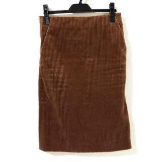 ドゥロワー(Drawer)のドゥロワー スカート サイズ34 S ブラウン(その他)