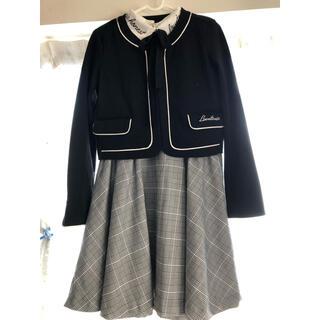 ラブトキシック(lovetoxic)のLovetoxic ラブトキシック ボレロワンピセット 160(ドレス/フォーマル)