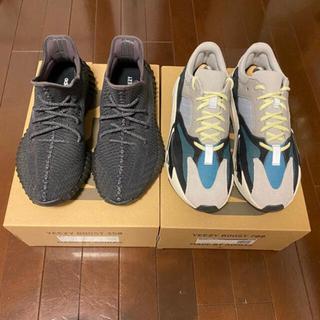 アディダス(adidas)のYEEZY BOOST 700 wave runner 値段交渉可(スニーカー)