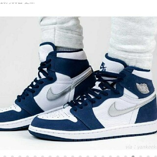 NIKE - Nike AJ1 HIGH OG MIDNIGHT NAVY JP.CO
