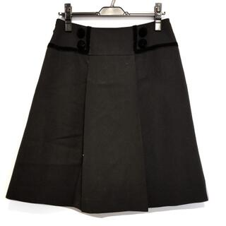 フォクシー(FOXEY)のフォクシー スカート サイズ40 M - 黒(その他)