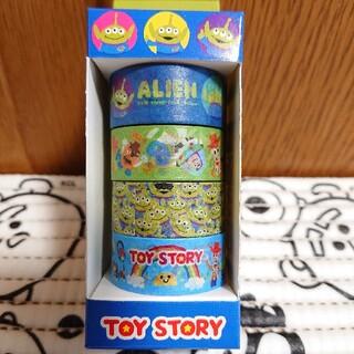 トイストーリー(トイ・ストーリー)のトイ・ストーリー マスキングテープ 1箱 4巻分(テープ/マスキングテープ)