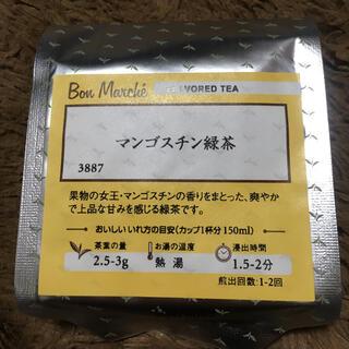 ルピシア(LUPICIA)のルピシア ボンマルシェ マンゴスチン緑茶 フレーバーティー 紅茶(茶)